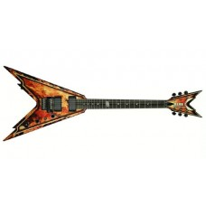 Dean Razorback V Explosion (with hard case)